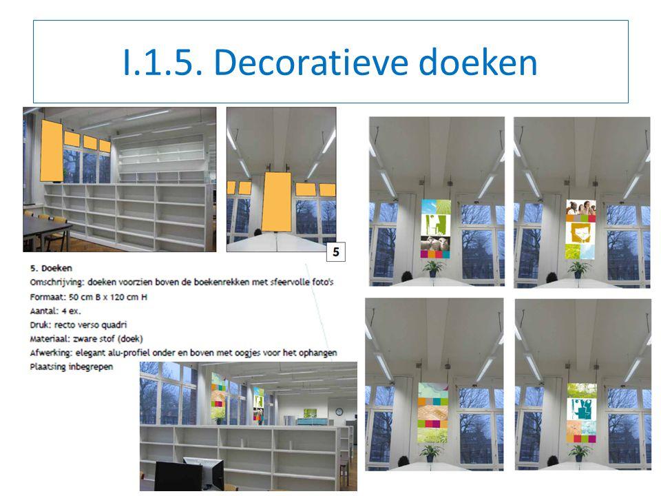 I.1.5. Decoratieve doeken