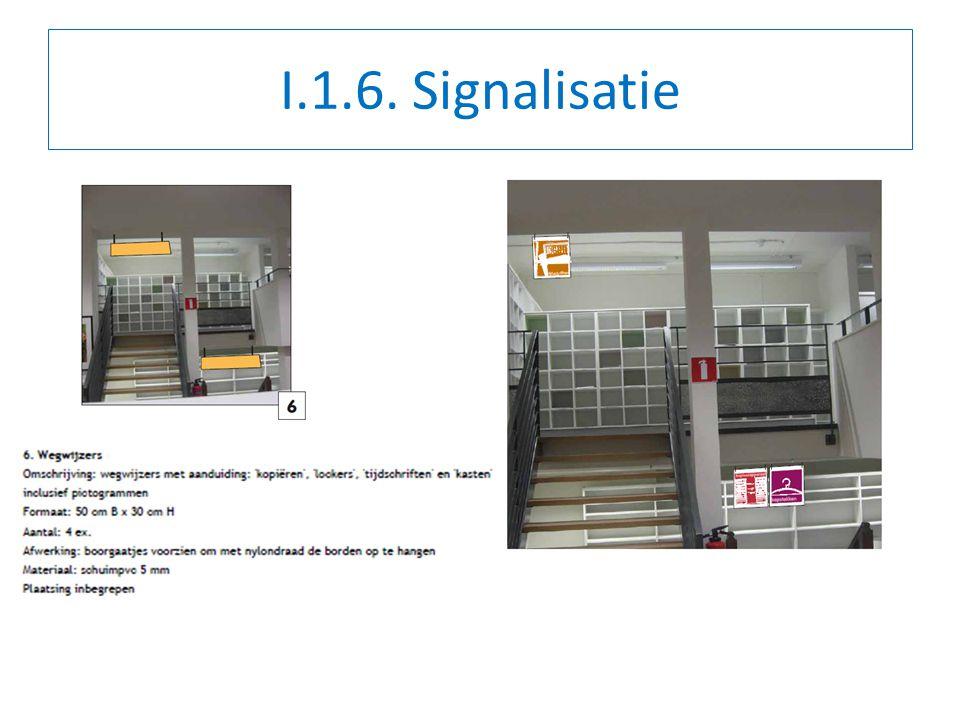 I.1.6. Signalisatie