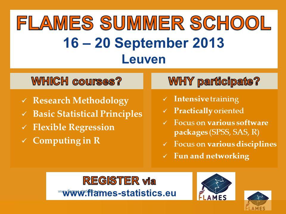 Sweet data promises www.flames-statistics.eu