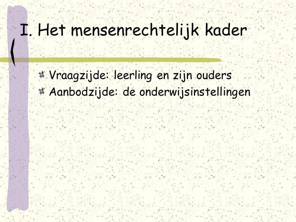 III.Het inschrijvingsrecht in het DGOK-I 5. Doorverwijzen: Afdwingbaar i.t.t.