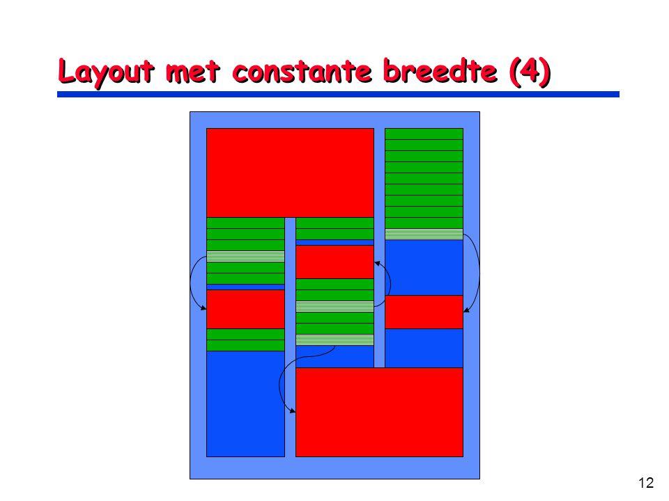 12 Layout met constante breedte (4)