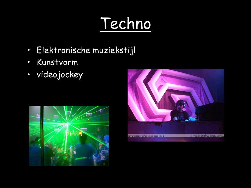 Techno Elektronische muziekstijl Kunstvorm videojockey
