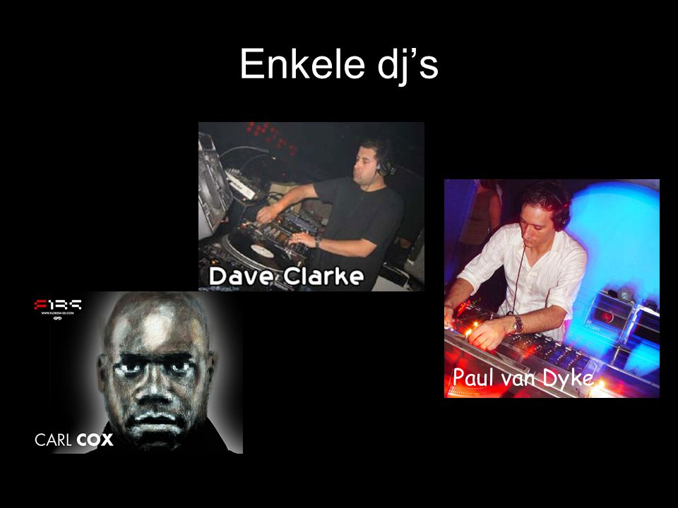 Dance Popmuziek met elektronisch aspect Enkele voorbeelden -Milk inc.- -Sylver-
