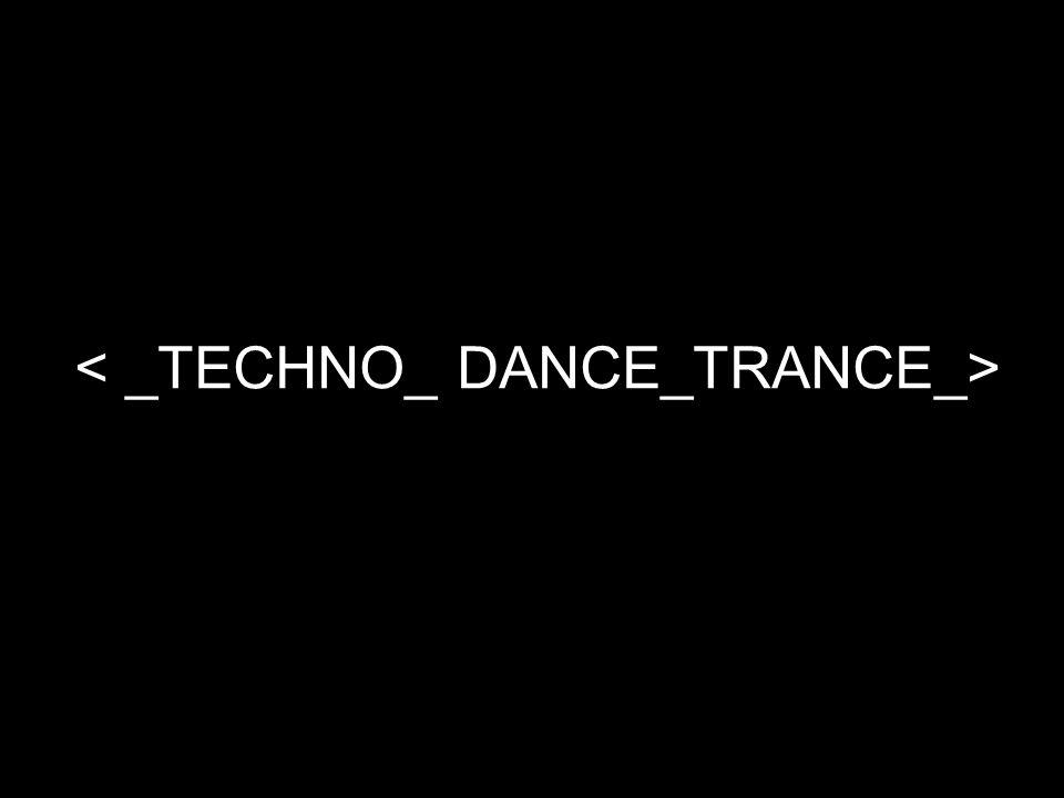Ontstaan De jaren '80 -House → Chicago (The Warehouse) uit Disco & soul → beats & ritmes