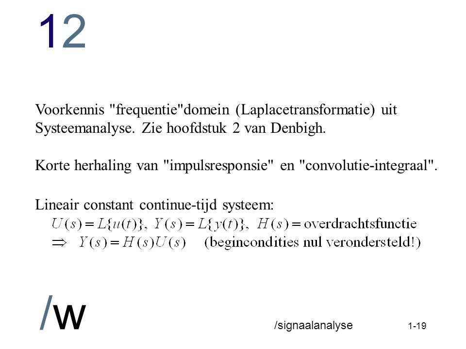 1212 /w /signaalanalyse 1-18
