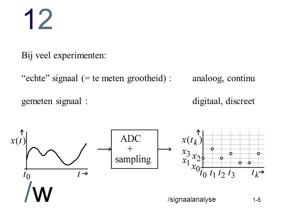 1212 /w /signaalanalyse 1-4 deterministisch versus stochastisch (random)