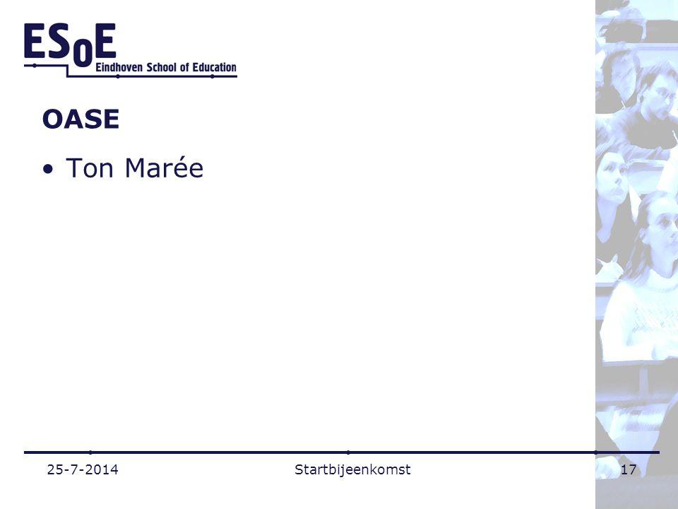 OASE Ton Marée 25-7-2014Startbijeenkomst17