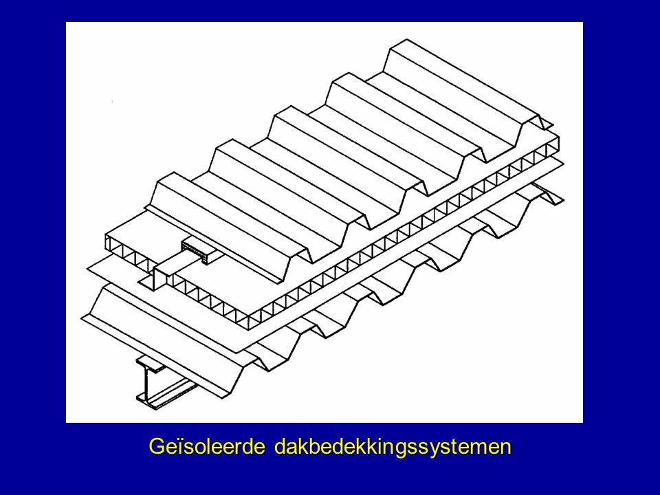 Geïsoleerde dakbedekkingssystemen