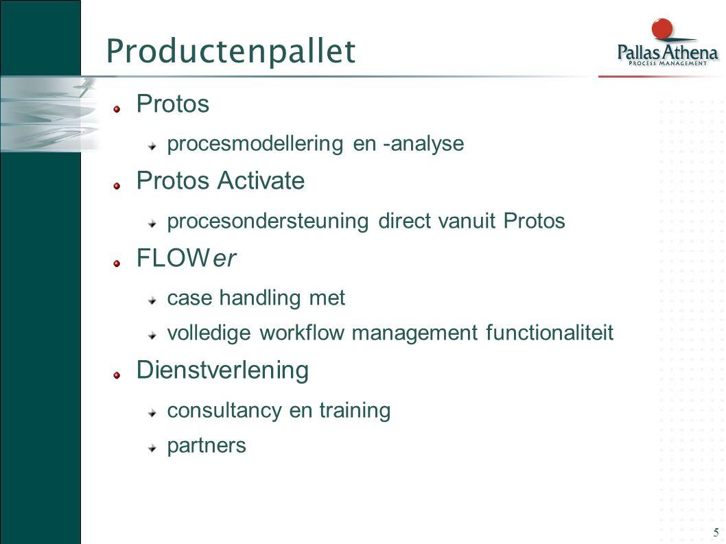 16 Idée fixe 1 Volg de productie-automatisering: processen en data moeten losgekoppeld worden.