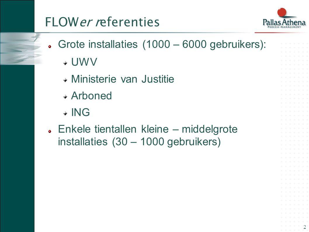 FLOWer Beheer Autorisatie en Distributie