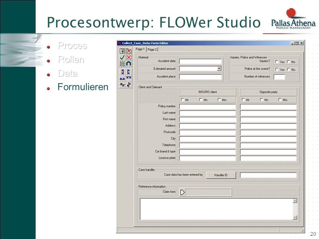 20 Procesontwerp: FLOWer Studio