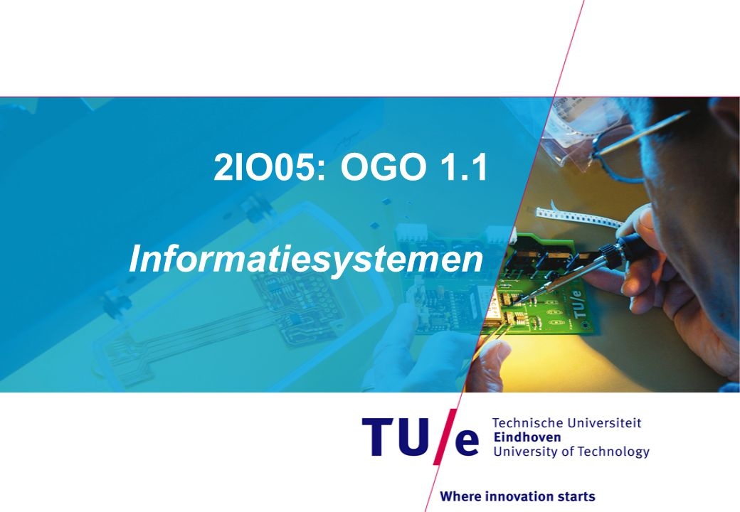 2IO05: OGO 1.1 Informatiesystemen