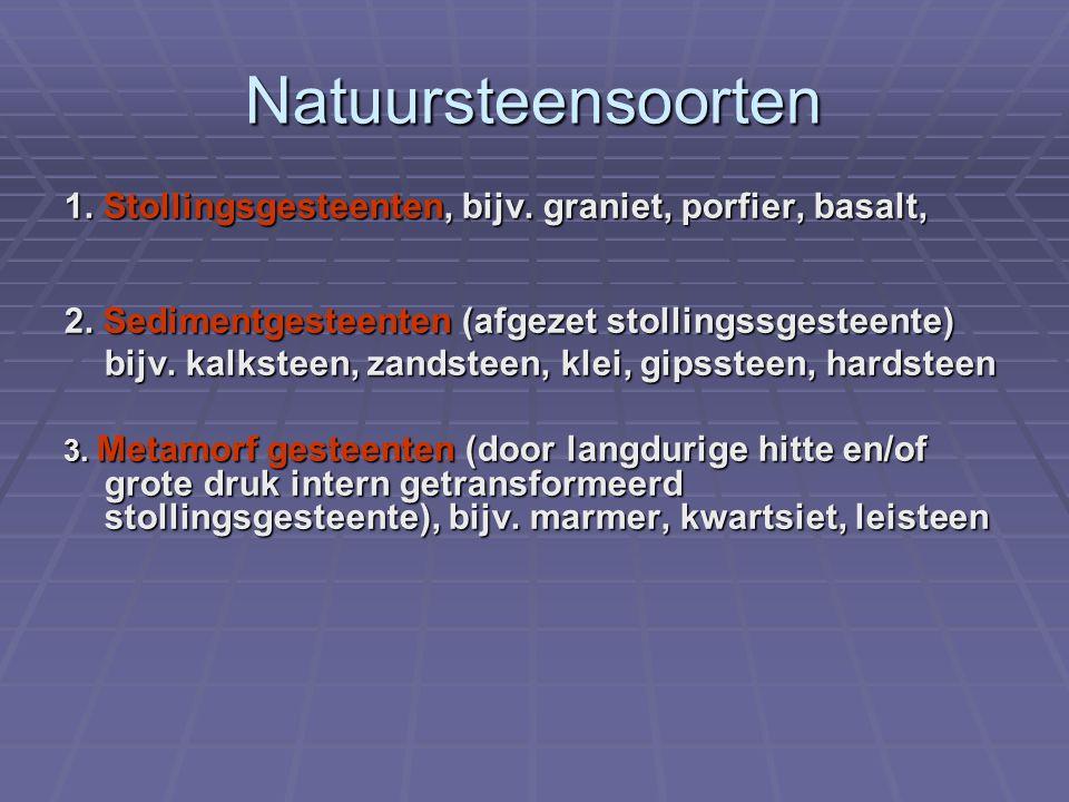 Vrijheid keuze metselmortel / voegwijze