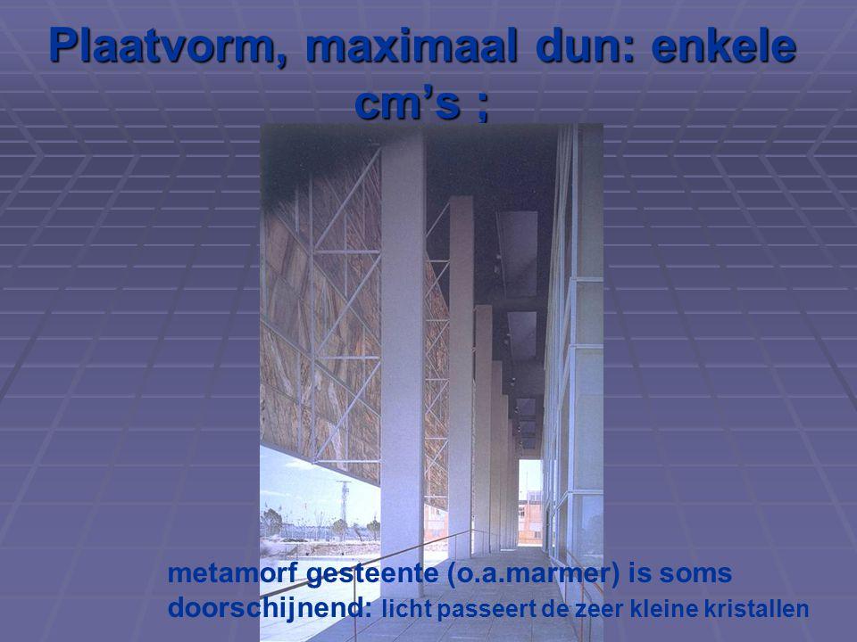 Nieuwe ontwikkelingen: Renzo Piano, Parijs Ophangen van bakstenen in een frame