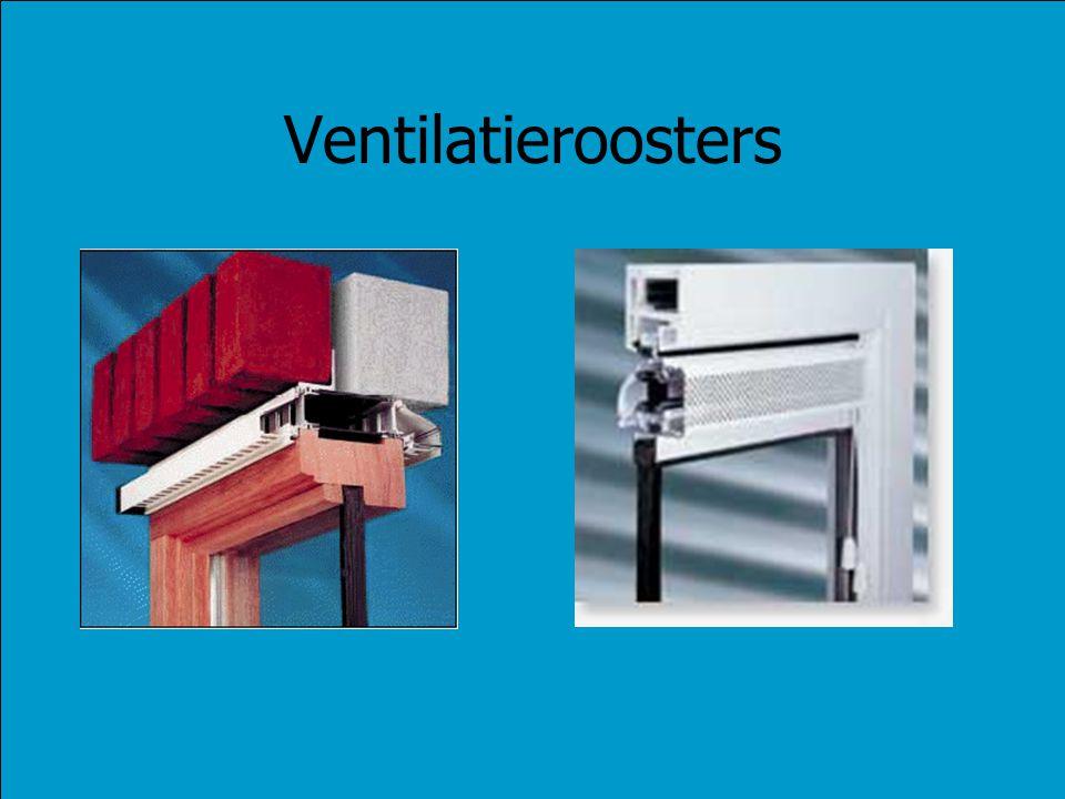Ventilatieroosters