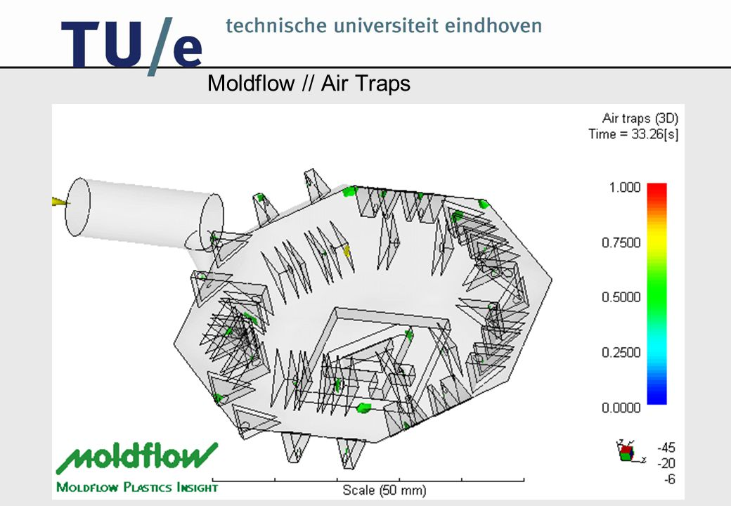 Moldflow // Air Traps