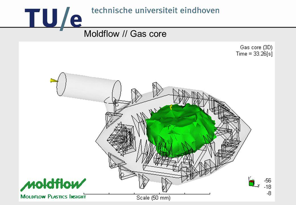 Moldflow // Gas core