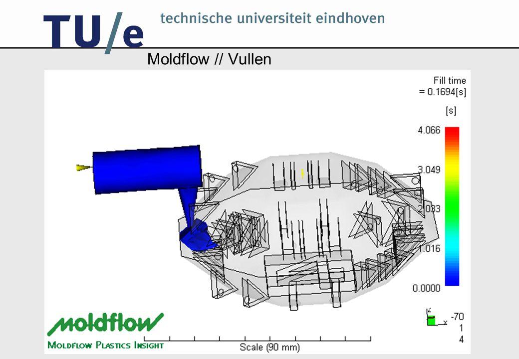 Moldflow // Vullen