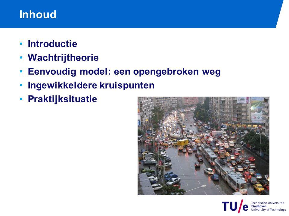 Programma practicum vanmiddag Demonstratie simulatieprogramma TrafficJam http://www.win.tue.nl/cow/ http://www.win.tue.nl/cow/ Zelf aan de slag: vind optimale instellingen voor de kruising van de Kennedylaan met de binnenring