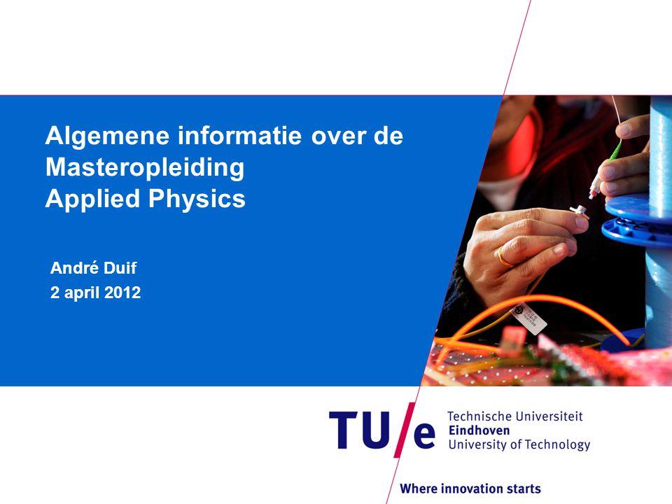 Inhoud Inleiding Specialisatierichtingen Opbouw van het programma Organisatie Regels Vragen / faculteit technische natuurkunde