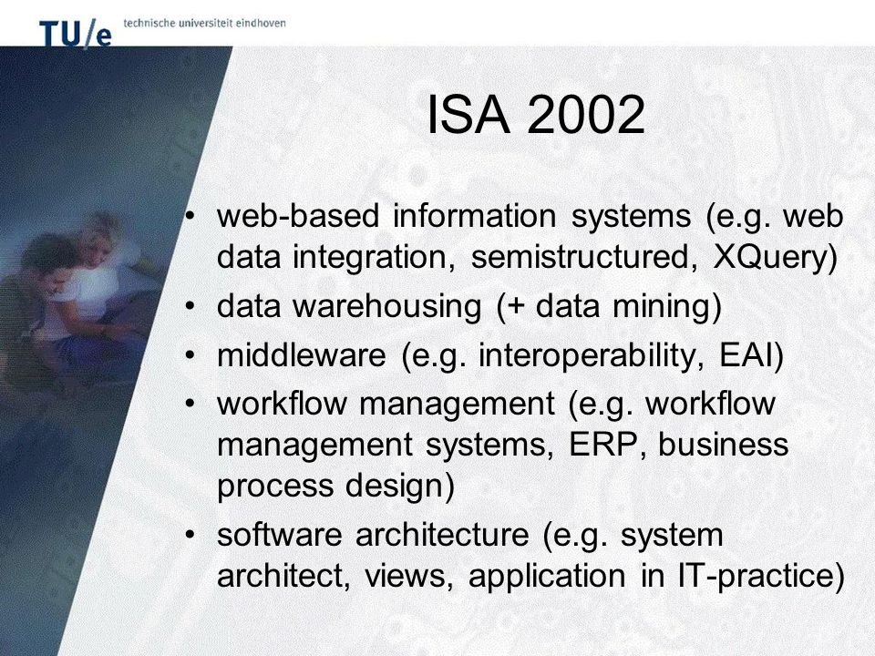 ISA 2002 web-based information systems (e.g.