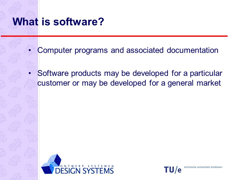 What is software.
