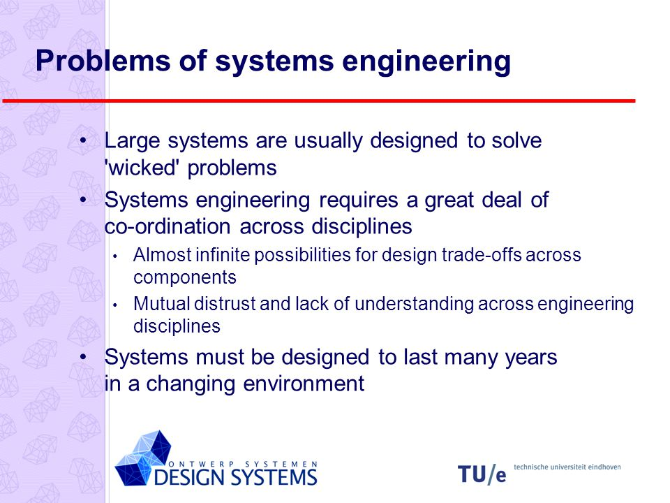 Software and systems engineering The proportion of software in systems is increasing.
