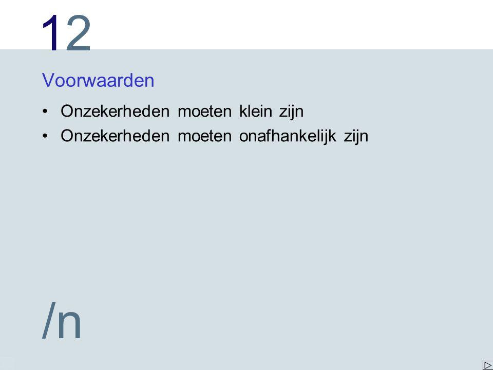 1212 /n Opgave bereken, en
