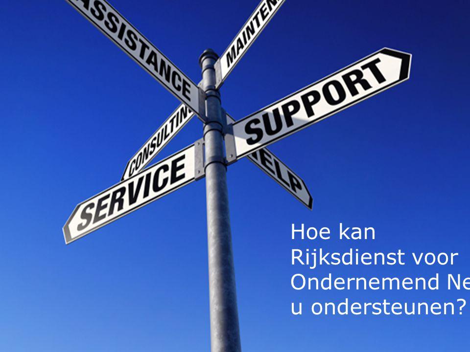 11 Hoe kan Rijksdienst voor Ondernemend Nederland u ondersteunen?