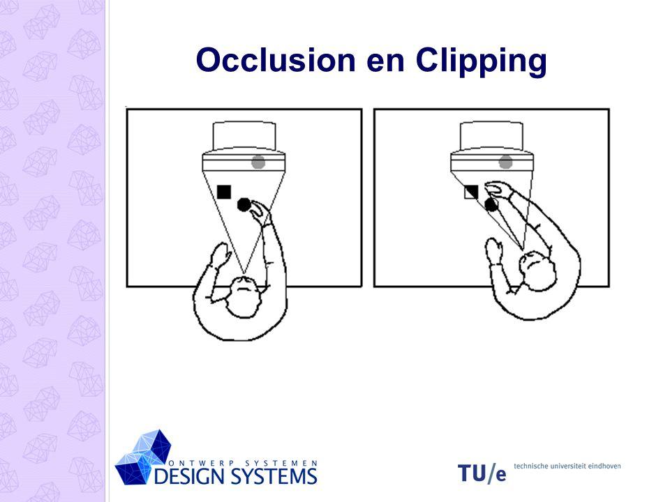 2D-Systemen Beeldscherm, muis, toetsenbord * VR Sketchpad - E.