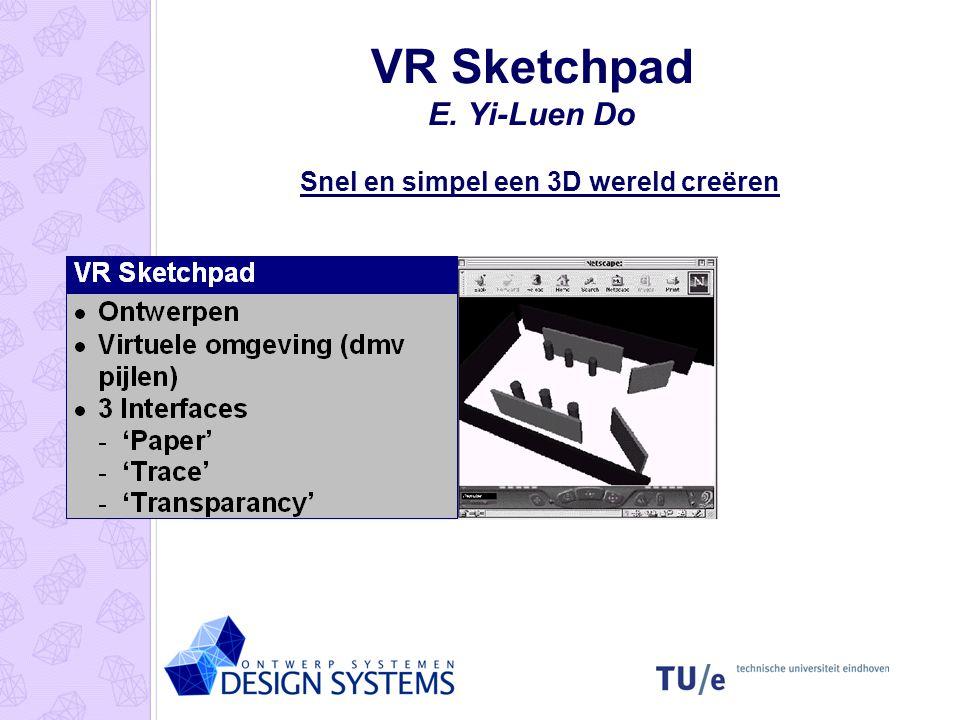 Gesture Modelling M.D. Gross & A.J. Kemp Videobeeld gecombineerd met data geeft commando