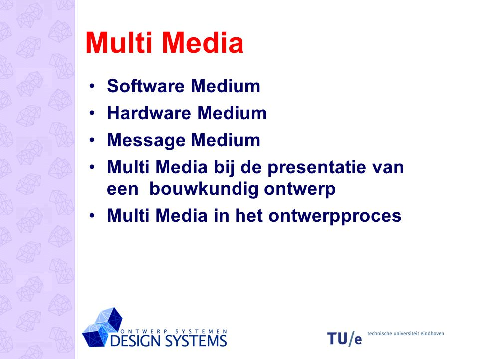 Multi Media Software Medium