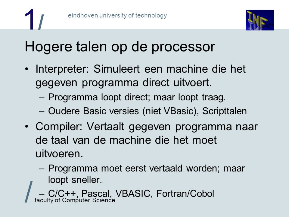 1/1/ / faculty of Computer Science eindhoven university of technology *.javajavac*.class java Hardware ASM504*.asm *.hex Compiler Interpreter