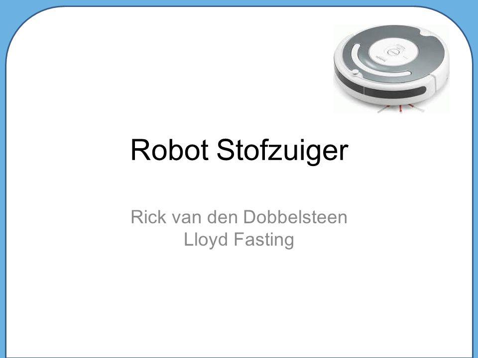 Robot Stofzuiger Rick van den Dobbelsteen Lloyd Fasting