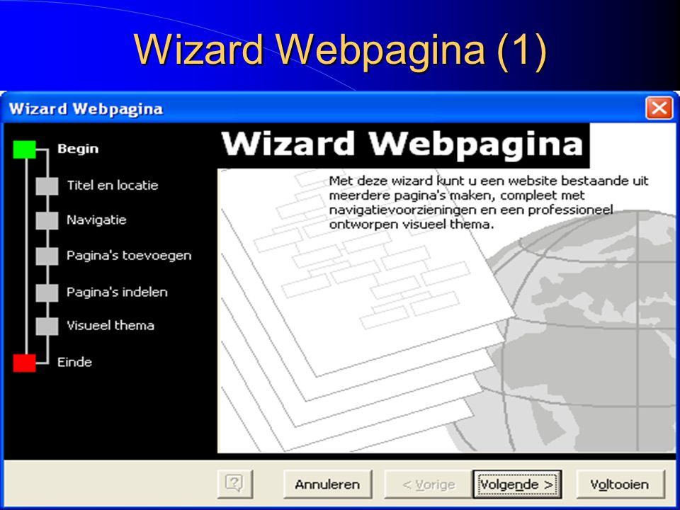 Wizard Webpagina (1)