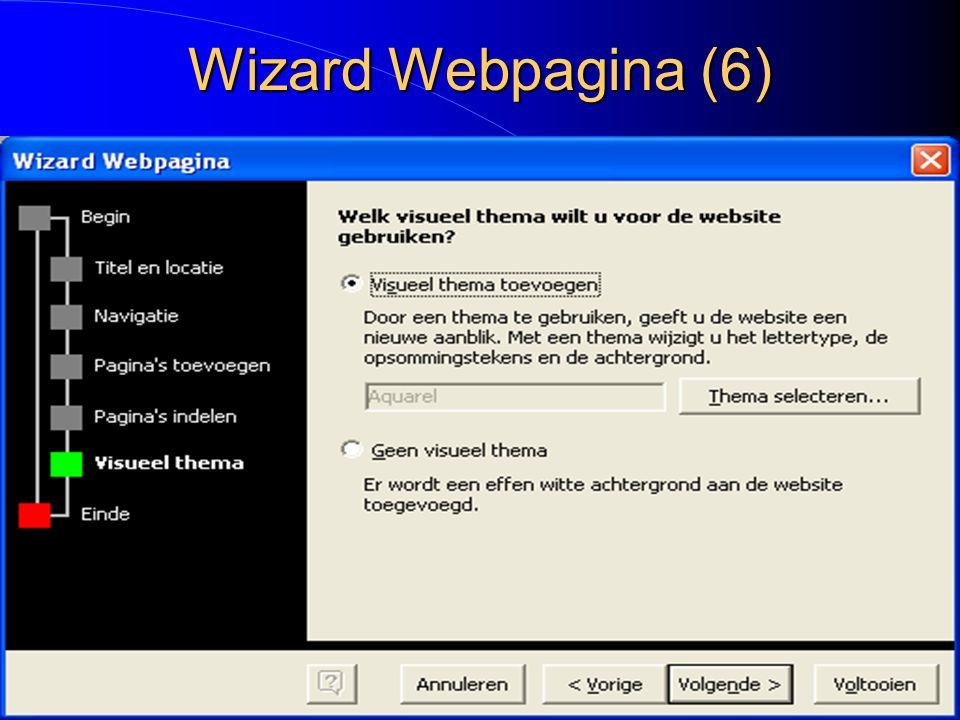 Wizard Webpagina (6)