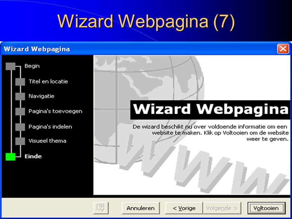 Wizard Webpagina (7)