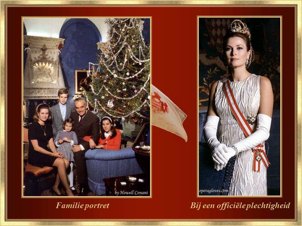Prins en Prinses van Monaco Officiële foto.