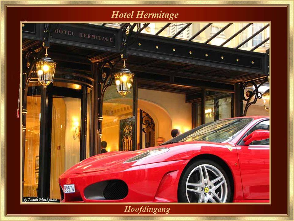 Hotel Hermitage Een van de meest traditionele en verfijnde hotels van Monaco.