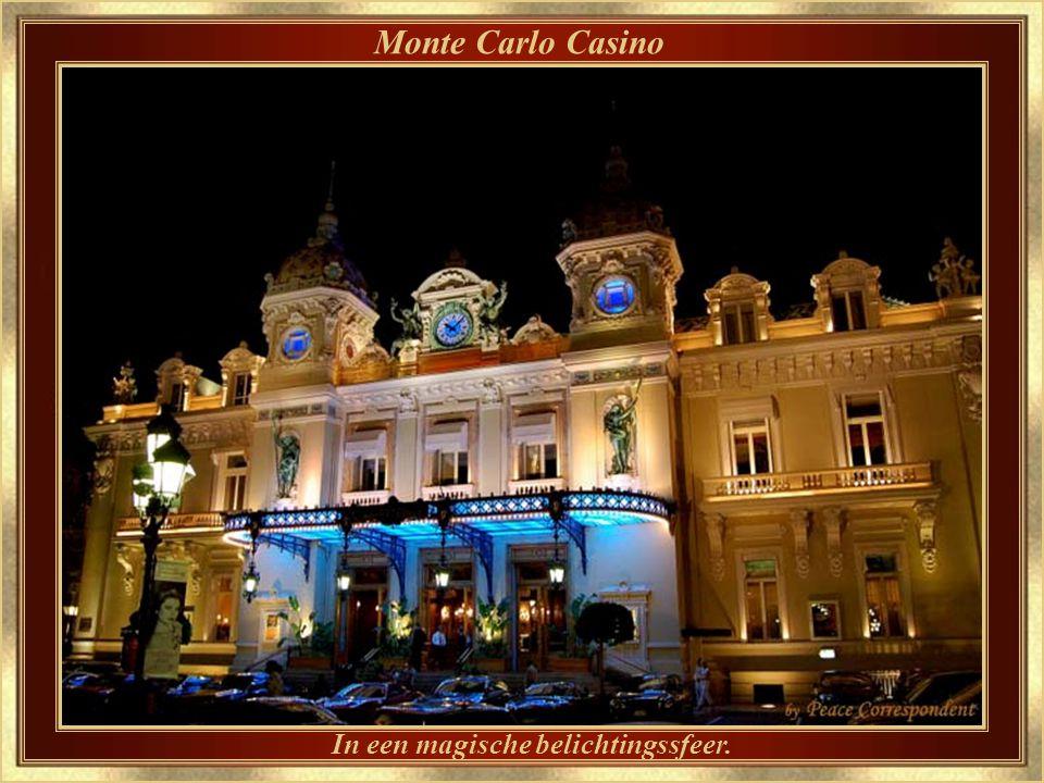 Monte Carlo Casino – detail Gebouwd door architect Charles Garnier, die ook de Parijse Opera ontwierp.