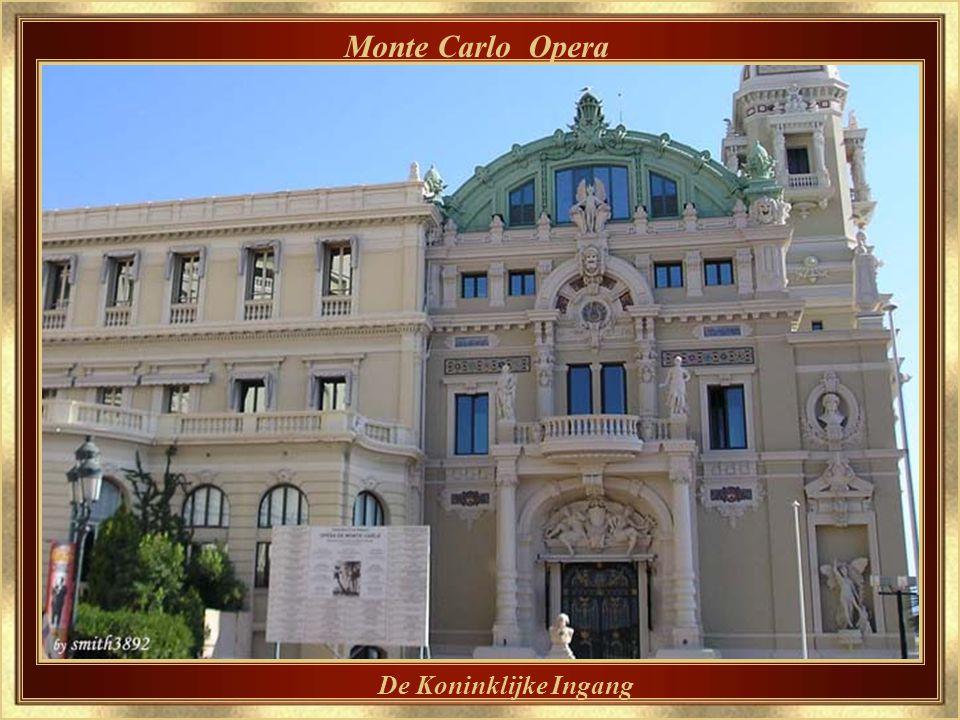 Monte Carlo Opera Ook ontworpen door Charles Garnier