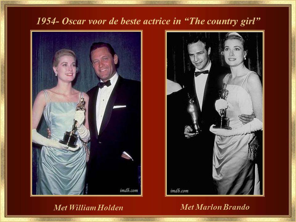 Al een vereerde Hollywood ster 1954