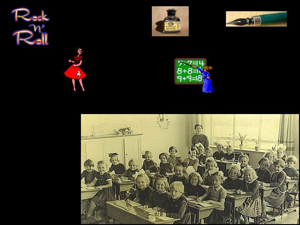 De tienerjaren (1956-1963) van de Oma's en Opa's van nu (2013) 1956 En dan is plotseling de rust over.