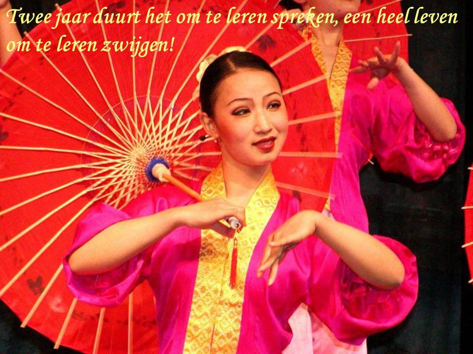 Sfeerbeelden met 32 Chinese wijsheden MUZIEK uit THAILAND