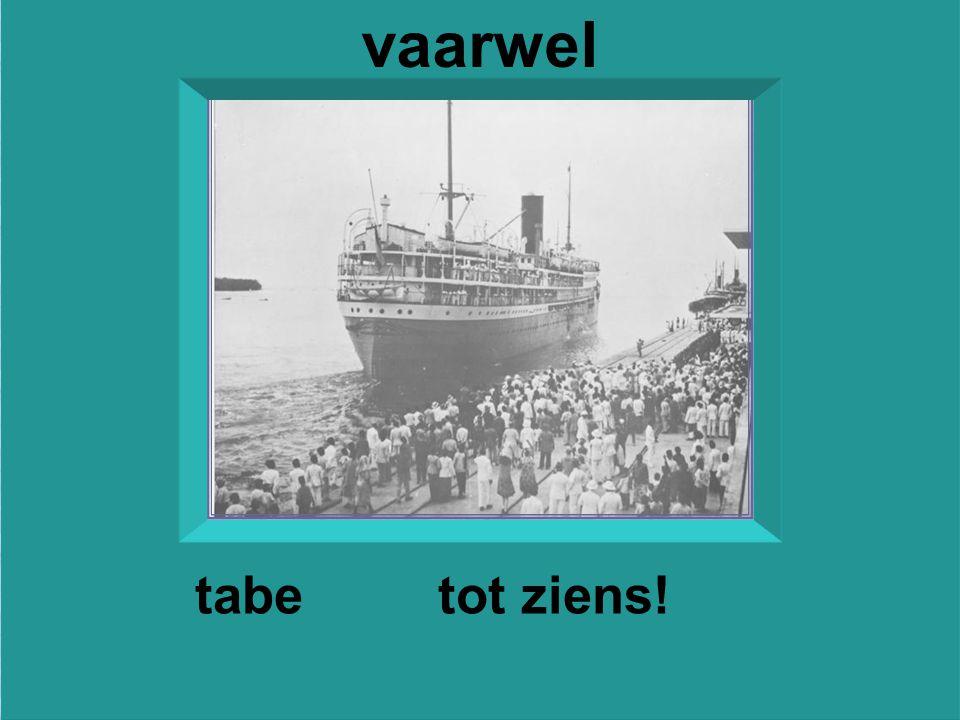 Vertrek van de eerste mailboot van de '' Rotterdamsche Lloyd'' van de kade van Belawan- Deli ( Sumatra's Oost-kust)