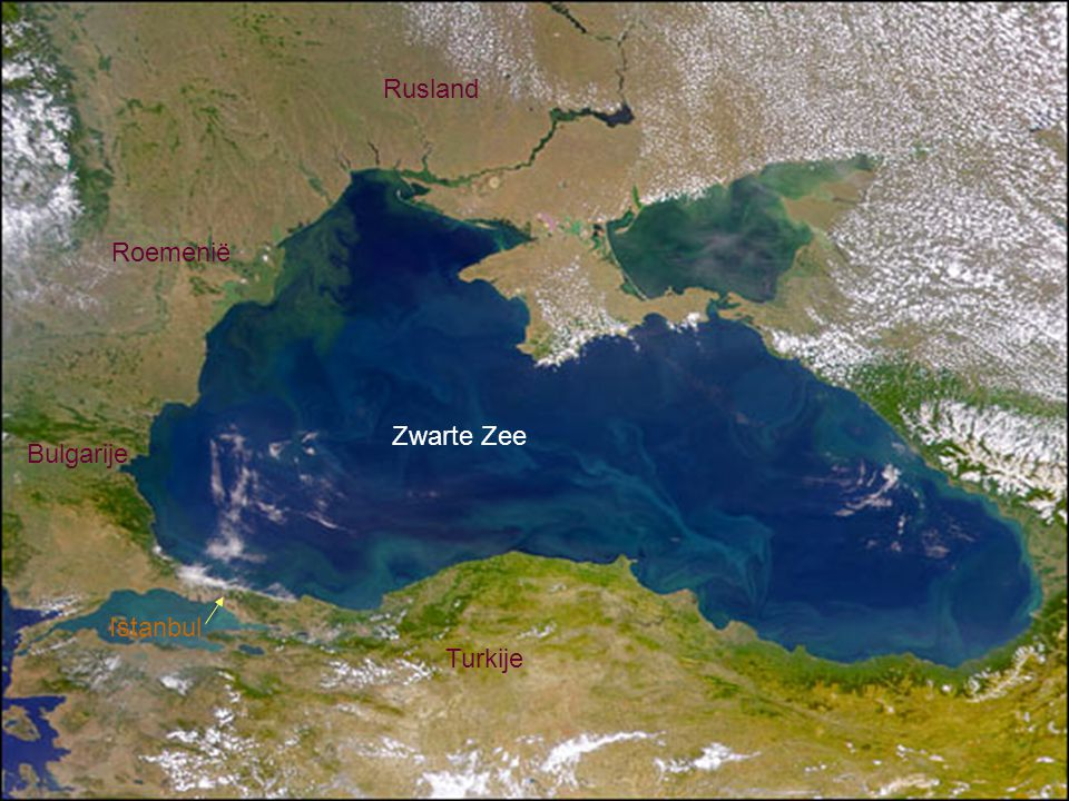 Turkije Istanbul Zwarte Zee Bulgarije Roemenië Rusland