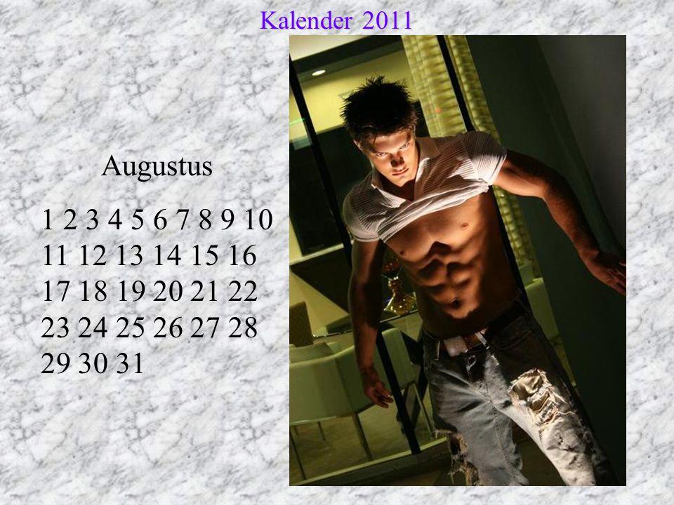 Augustus 1 2 3 4 5 6 7 8 9 10 11 12 13 14 15 16 17 18 19 20 21 22 23 24 25 26 27 28 29 30 31 Kalender 2011