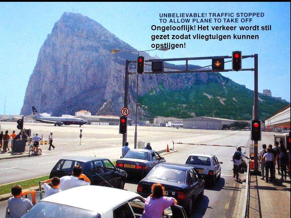 Panoramafoto van Gibraltar Airport