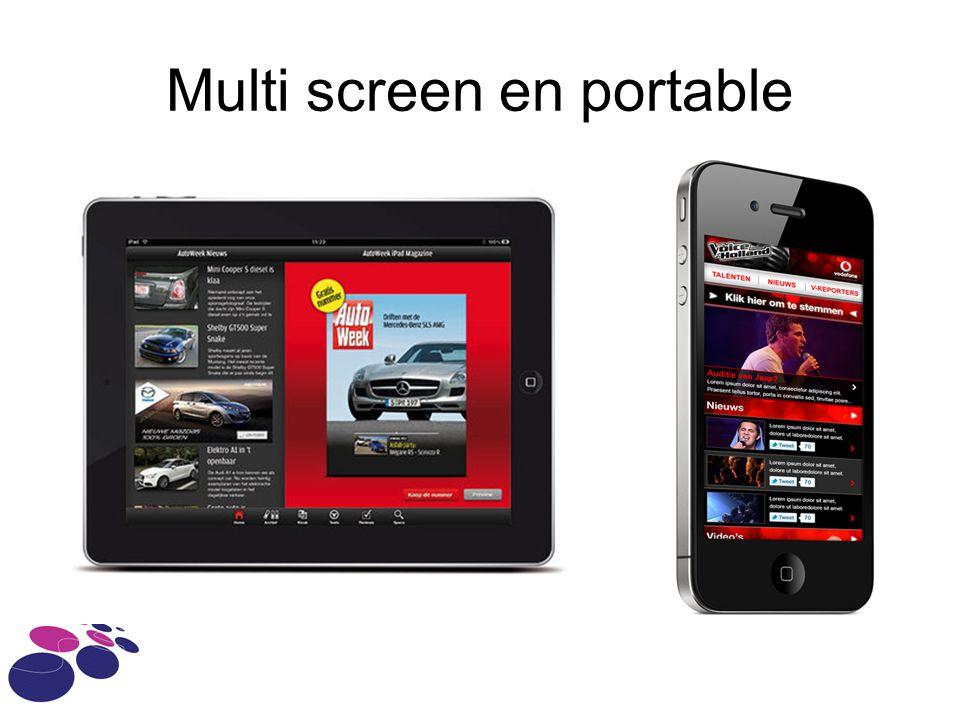 Multi screen en portable