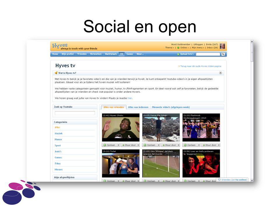 Social en open